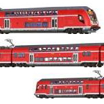 Brawa N TWINDEXX VARIO IC2客車、電車