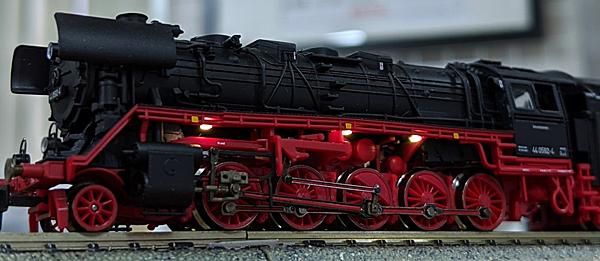 Fleischmann 714472 SL BR 44 オイルテンダー DR Ep�W DCC Sound