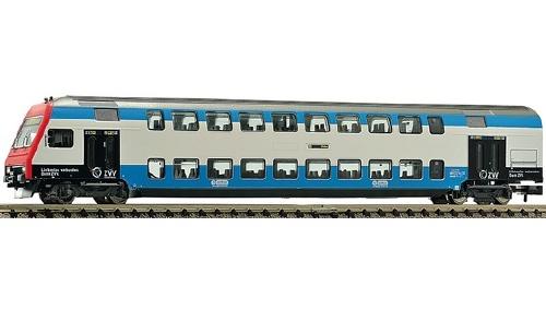 Fleischmann N 2階建制御客車 チューリッヒ S Bahn 用 ZVV Netz特別色 SBB Ep�Y