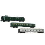 客車3両セット Classic express train of the epoch�W DB set1