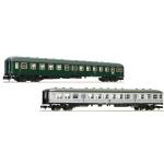 客車2両セット Classic express train of the epoch�W DB set2