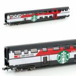 Hobbytrain N IC2000 2階建客車 SBB
