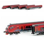 Hobbytrain N Railjet OeBB 客車セット