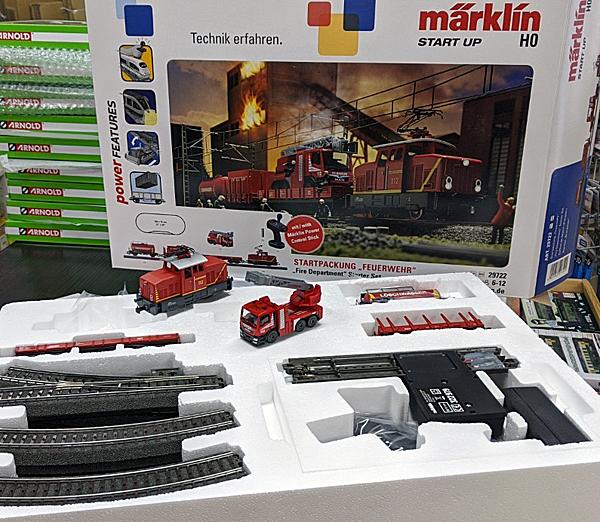 Maerklin 29722 Start Up 消防隊セット