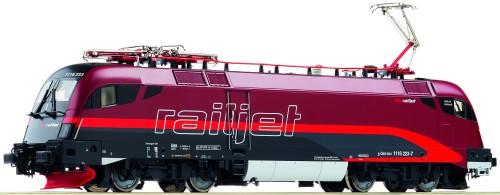 Roco HO EL Rh 1116 Railjet OeBB