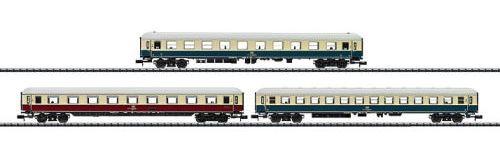 Trix N Histric IC 2410 客車3両セット 1等2等 DBAG Ep�Y