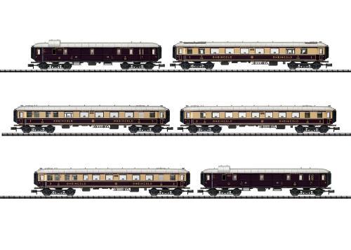 Trix 15539 N 客車6両セット Rheingold DRG Ep�U