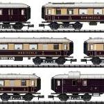 Trix N ラインゴルド 客車6両セット