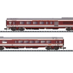 TEE CAPITOLE客車2両セット#2 Ep�W SNCF