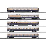 Trix N 客車5両セット Rheingold 62 Ep�V