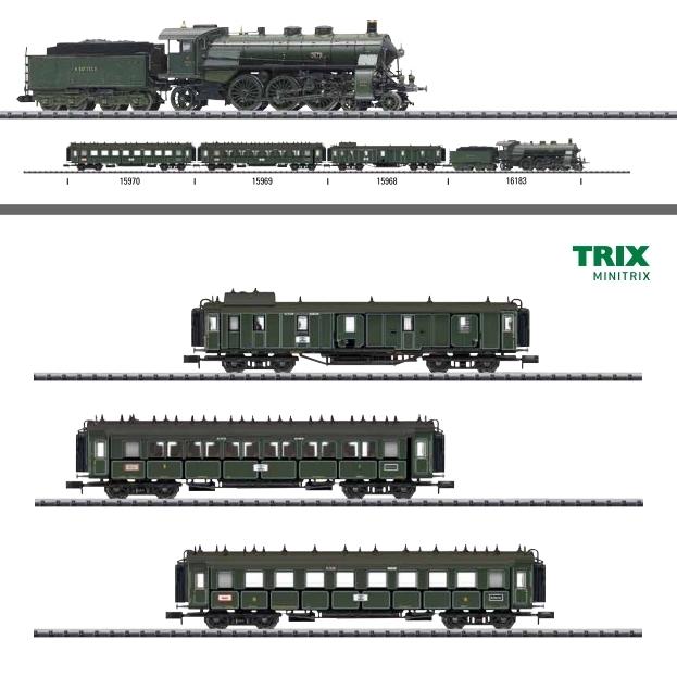 Trix 16181 N SL BR 18.5 DRG Ep�U DCC Sound